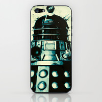 DOCTOR WHO SERIES / DALEK iPhone & iPod Skin by Steal This Art