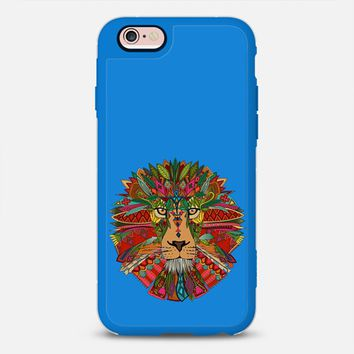 lion blue iPhone 6s case by Sharon Turner   Casetify