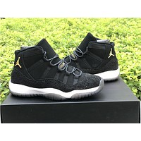 Air Jordan Retro 11 XI PRM 'Heiress Black Stingray'