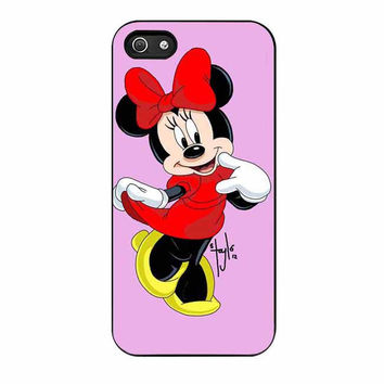 minnie mouse cases for iphone se 5 5s 5c 4 4s 6 6s plus