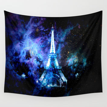 paRis Wall Tapestry by 2sweet4words Designs
