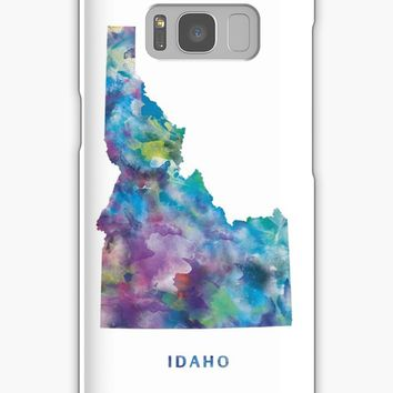 'Idaho' Samsung Galaxy Case/Skin by MonnPrint
