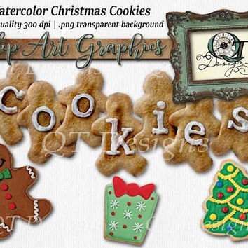 Christmas Cookie Package Graphic Design Pack | 4 png images with transparent background high res 300 dpi | Clip Art Set | pin up girls