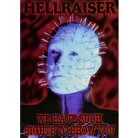 Hellraiser - Sights Postcard