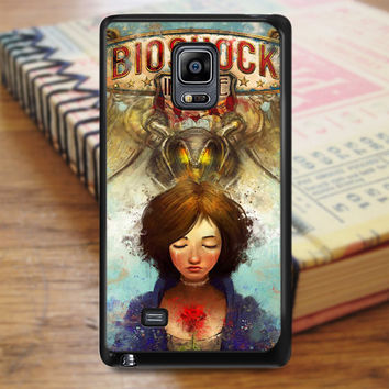 Briliant Bioshock Infinite Poster Samsung Galaxy Note Edge Case