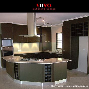 High quality lacquer mdf kitchen cabinet made in China