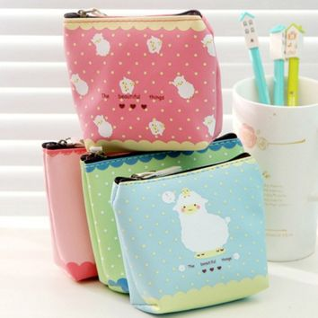 Lovely Newest Girls Alpacasso Arpakasso Alpaca Coin Purse Mini Wallet Doll Toy