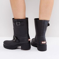 Hunter Original Biker Buckle Boots at asos.com