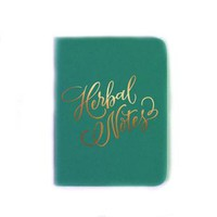 Herbal Thoughts Notebook