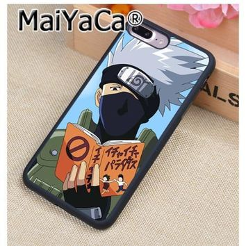 Naruto Sasauke ninja MaiYaCa  Pain Pain Hokage  Kakashi shippuden rinnegan Hard Phone Case for Apple iPhone 8 7 6 6S Plus X 10 5 5S SE 5C 4 4S AT_81_8