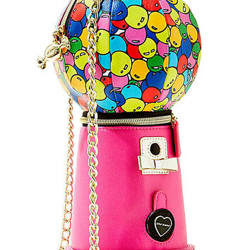 KITCHI BUBBLE GUM MACHINE CROSSBODY PINK