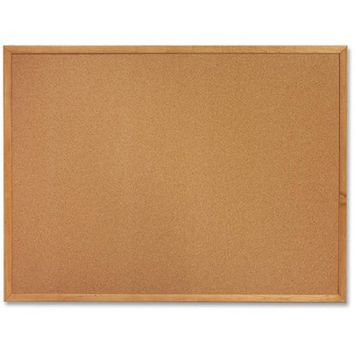 "Sparco Wood Frame Cork Board, 18"" x 24"""