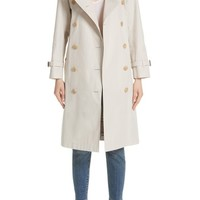Burberry Treecastle Side Stripe Trench Coat | Nordstrom