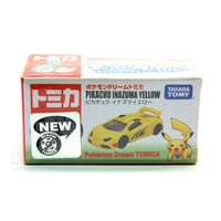 Pikachu Inazuma Yellow Lamborghini Pokemon Pocket Monsters Takara Tomy Vehicle