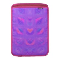 Girly Pink and Purple Abstract Sleeve For MacBook Air