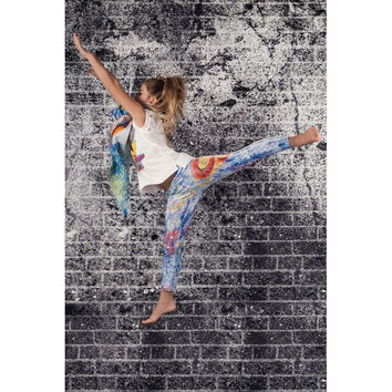 Monnalisa Jakioo - CAPSULE ART COLLECTION by Ludmilla Radchenko Leggings - 10Y