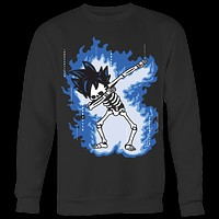 Super Saiyan - Goku Ultra Instinct Dab Skeleton X Ray Costume - Unisex Sweat Shirt - TL01423SW