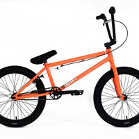 "2016 Colony Endeavour 21"" Complete Bmx Bike Neon Orange"