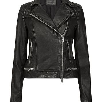 Conroy Leather Biker Jacket
