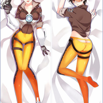 Japanese Anime Overwatch Hugging Body Pillow Case Pet Pillowcases Cover Decorative Pillows 50*150 2Way