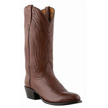 Men's Embroidered Western Boots