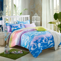 Bedding Set  Single Double Queen King Size Bed Set Pillowcases Quilt Duvet Cover 20kinds