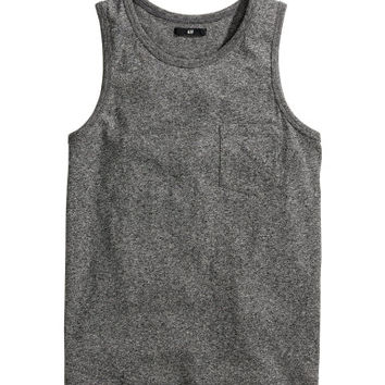 H&M Cotton-blend Tank Top $7.99