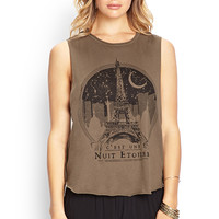 Eiffel Tower Muscle Tank