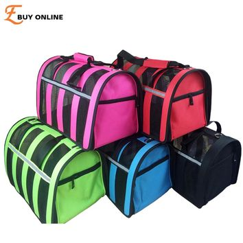 Mesh Breathable pet carrier for small dogs or cats. Free Shipping
