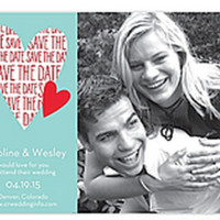 From the Heart - Photo Save the Date