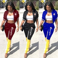 Champion Tide brand new female models personality wild two-piece