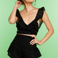 Wendy Top - Black Doile