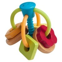 Go GaGa Wood Rattle