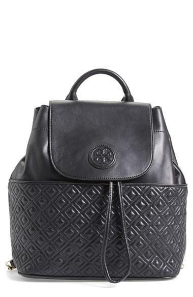 138b069ea69 Tory Burch  Marion  Quilted Lambskin Backpack. Save Sold