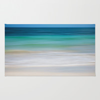 SEA ESCAPE Area & Throw Rug by Catspaws | Society6