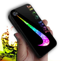 Colourful Nike Just do it design for iphone 4/4s case, iPhone 5 case, Samsung s3 i9300 case,s4 i9500 case