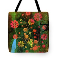 Wild With Color Tote Bag