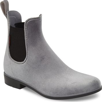 Chooka Waterproof Velvet Chelsea Rain Boot (Women) | Nordstrom