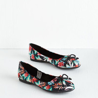 ModCloth My Stroll-Mate Flat in Tropical