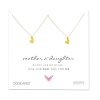 Dogeared | Gold Mother Daughter Necklace