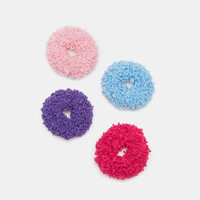 Pack of Fuzzy Scrunchies