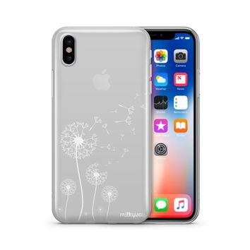 Dandelion - Clear TPU Case Cover