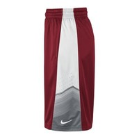 Nike Elite World Tour Men's Basketball Shorts - Gym Red