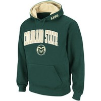 Colorado State Rams Arch Logo Pullover Hoodie - Green
