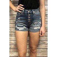 Kan Can Mom Shorts- Dark