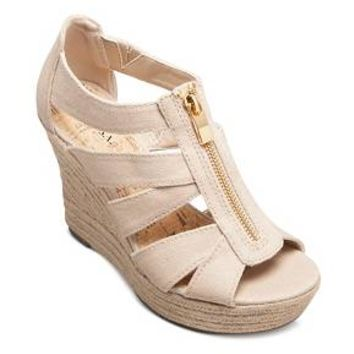 Women's Meredith Zipper Wedge Sandals - Merona™ : Target