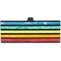 Edie Parker Striped Clutch - Farfetch