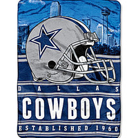 The Northwest Company Dallas Cowboys Silk Touch Throw