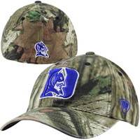 Top of the World Duke Blue Devils Resistance 1Fit Flex Hat – Mossy Oak