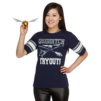 Quidditch Tryouts Ladies' Tee